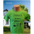 tričko pro farmáře